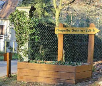 Pancarte Sainte Edith